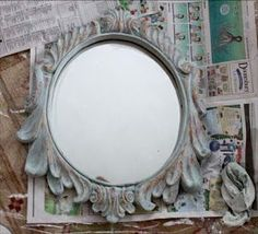 The Decorated House ~ Create a Beautiful Blue Distressed Antiqued Finish with Annie Sloan Chalk Paint