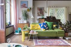 Colorful interior by Sloppop Yeah