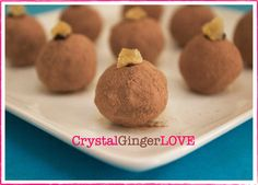 Chocolate Ginger Truffles with Cacao & Smoked Sea Salt