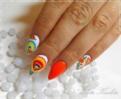 paznokcie kwiaty łowickie - Szukaj w Google