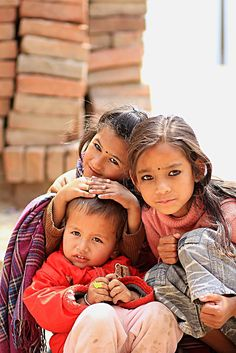 Children of Bandipur, Nepal Travel Honeymoon Backpack Backpacking Vacation