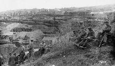 German infantry, near fortified position, Near Monastir, Macedonia Front America Civil War, World War One, Macedonia, German, Painting, Clothing, World War I, Deutsch, Tall Clothing