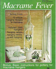 Macrame Fever  Macrame Pattern Book 7203 by grammysyarngarden