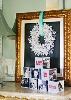 At The Picket Fence: Decorating with Photos & a $350 Shutterfly Giveaway!
