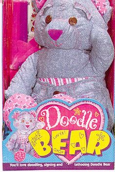 Doodle bears were for all the coolest kids. I actually think I had a doodle bunny...which was even better.