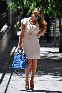 Dior blue bag