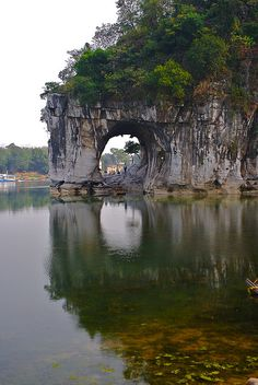 Elephant Rock in Guilin, China. Good memories. ;)