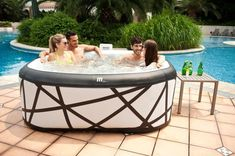 nice Top 10 Best Inflatable Hot Tub Reviews -- Which One to Choose?