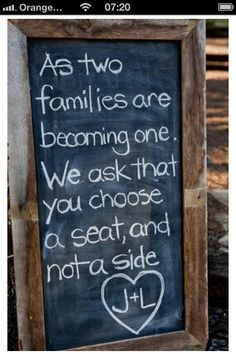 I think I'll need to do this for my boyfriends family.