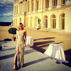 Pin for Later: 18 Stylish Reasons to Follow Diane Kruger on Instagram Immediately And He Makes Her Dazzling Dresses