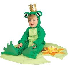 Frog Prince Lil Infant 6-12mos