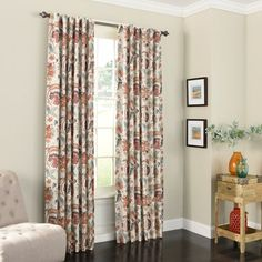 You'll love the Dickerson Nature / Floral Semi-Sheer Grommet Curtain Panels at Birch Lane - With Great Deals on all Rugs & Windows products and Free Shipping on most stuff, even the big stuff.