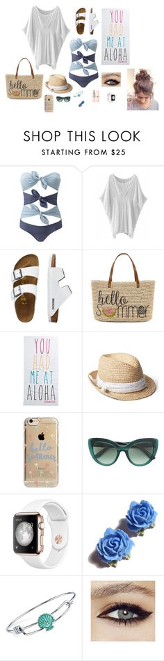 """SUMMER!!!! Beach Day!"" by fofo13 on Polyvore featuring Lisa Marie Fernandez, TravelSmith, Straw Studios, Rip Curl, Gap, Agent 18, Dolce&Gabbana, Tarina Tarantino and Disney"