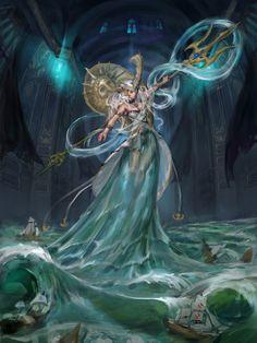 Poseidon, in shoo on ArtStation at https://www.artstation.com/artwork/Lag4l