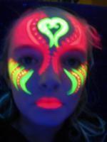 """luminous painting on the face - """"Google"""" paieška"""