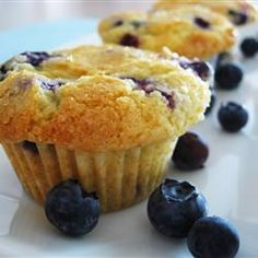 Easy Blueberry Muffins Recipe - i made these and they tasted amazing!