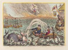 'British tars, towing the Danish fleet into harbour'  ca. 1807