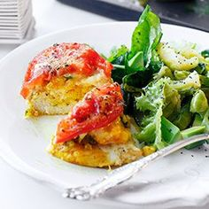 Sakiewki z kurczaka z kaszą jaglaną i pomidorami | Kwestia Smaku
