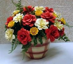 Red and Yellow Flower Arrangements - Bing Images