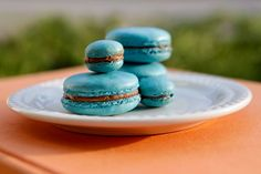 """© 2012 Sarah Jane Sanders  French Macarons - hollow issues.  Also a buddy on Facebook said """"try not to beat the meringue at a high speed. this could cause air into the meringue. on my kitchen aid, i try to beat it at 4 then add the the sugar keeping it at 4. about 3 min later speed it up to 5 couple min then 6 for the last minute. I wouldn't go higher than 6 based on my personal experience."""""""