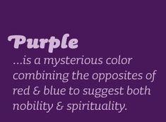Afbeeldingsresultaat voor meaning of purple the passion