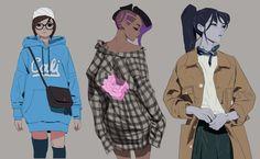 Overwatch fashion week 2 by samuelyounart.deviantart.com on @DeviantArt
