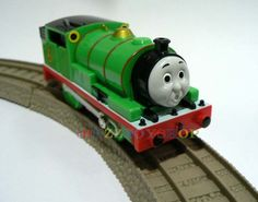 $0.01 bid Tomy Trackmaster Thomas and Friends Battery Percy MOTORIZED Train