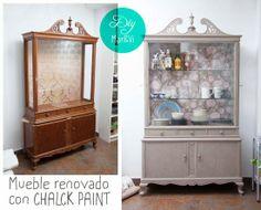 Mar&Vi Creative Studio - España: Diy: Mueble reciclado con Chalk Paint