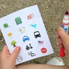 Printable Outdoor Scavenger Hunt!  I will be doing this today!!