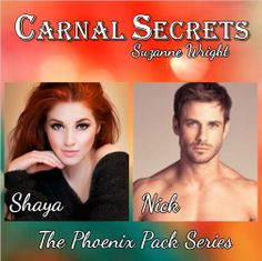 Carnal Secrets by Suzanne Wright Smokin' Hot Book Blog's collage