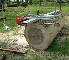 Resultado de imagem para chainsaw mill