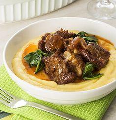 Rabada com polenta por Academia da carne Friboi