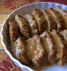 Seitan Roast [loaf]. Recipe from http://nomeatbarefeet.com/2012/09/23/seitan-roast/.