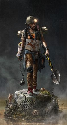 Zombie Hunter by alexnegrea.deviantart.com on @deviantART