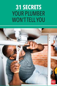 Clogged Pipes, Plumbing, The Secret, Told You So, Reading, Tips, Decor, Log Projects, Decoration