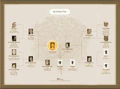 Charts & Books - family tree Web Site - MyHeritage