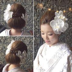 いいね!364件、コメント2件 ― Misa Niinobe l 新延 美紗さん(@misaco_1130)のInstagramアカウント: 「* ************************* elegant Japanese style ************************* * *…」 Asian Party, Japanese Kimono, Japanese Style, Hair Arrange, Japanese Hairstyle, Floral Crown, Wedding Hairstyles, Wedding Inspiration, Hair Beauty