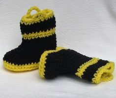 Shut up. As a firefighter wife/mom, I know how easy it is to  OD on firefighter stuff for babies of firefighters. But these are too freaking adorable. I am sad my babies are too big for them now! $10.00