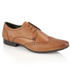 da36930274794 Silver Street London Fleet Tan Leather Formal Brogue Shoes Tan Leather,  Formal Shoes, Brogues