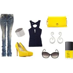 Casual Beauty, created by ashley-nicole-morrison on Polyvore