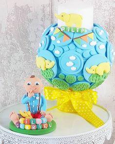 Micutul Filip Grabriel adora elefanteii iata ce cake topper si lumanarica am realizat petru el  - facebook.com/islamlog -