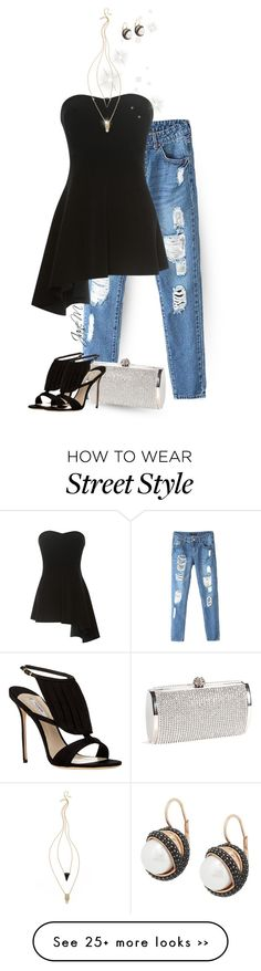 """Street style"" by janemichaud-ipod on Polyvore featuring Derek Lam, Olgana, Jules Smith and Honora"
