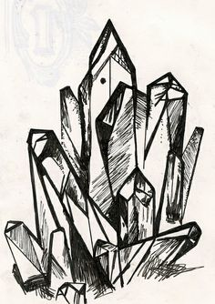 crystal sketch | Flickr - Photo Sharing!