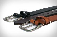 3sixteen x heavyweight x english bridle leather x nickel buckle x waxed