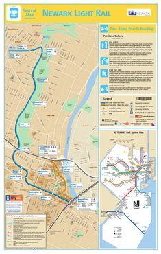 Die Newark Straßenbahn (NLR, Newark Light Rail) operiert in Newark, Neujersey (New Jersey). Das System besteht aus zwei Abschnitten: die Newark Stadt U-Bahn (NCS – Newark City Subway) ist die wirkliche U-Bahn Sektion des Systems und die Erweiterung nach Broad Straße Station, die ebenerdig zirkuliert. Diese Dienstleistung wurde in July 2006 in Betrieb genommen #u-bahn #newark
