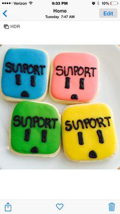 Sunport sugar cookies