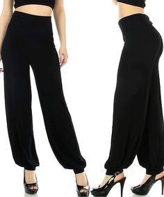 Aladdin Pants in Black