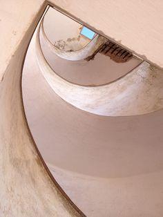 Casablanca Stairs by Prem Astha