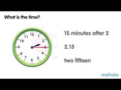 ▶ Telling Time to 5-minute Intervals - YouTube