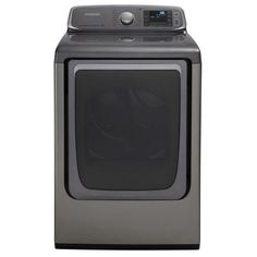 Samsung 7.4 cu. ft. Electric Dryer with Steam in Platinum
